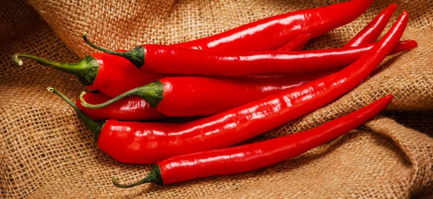 Перец острый: красен и опасен