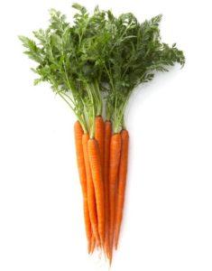 Чтобы морковь не зеленела