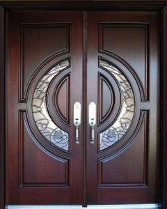 Выбор входной двери для частного дома.