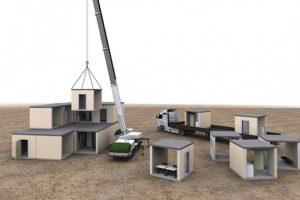 Быстромонтируемые модульные здания