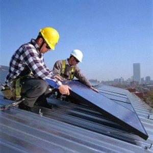 Солнечная энергия. Установка солнечных батарей.