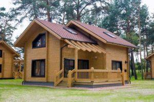 Насколько теплый дом из клееного бруса?