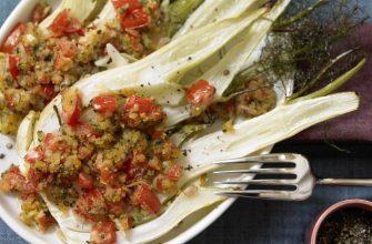 Блюда с овощным Фенхелем
