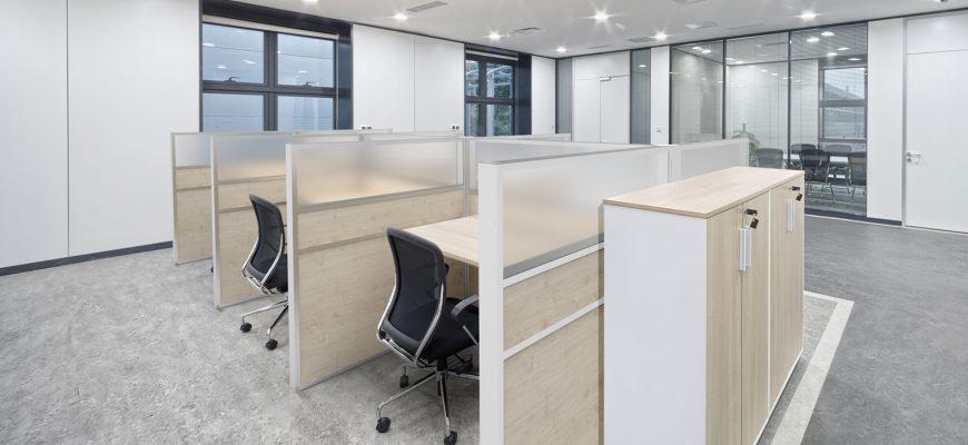 Преимущества офисных перегородок