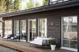 Террасные окна по финской технологии