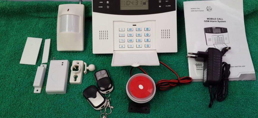 Беспроводная GSM сигнализация для дома и дачи