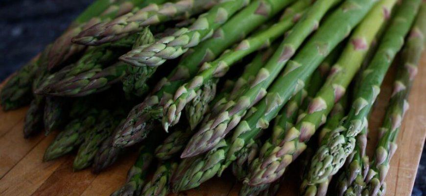 Царский овощ аспарагус