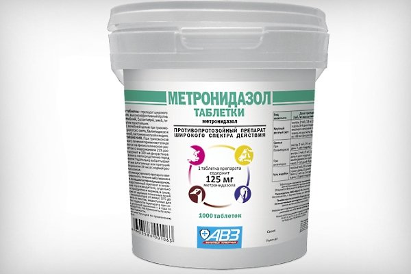 Как и когда правильно давать Метронидазол курам?