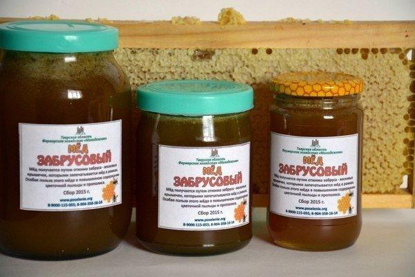 В чем особенность мёда с забрусом?